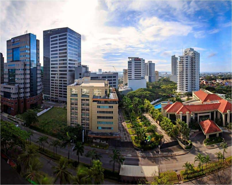 Cebu Business Park is one of the two unique districts of Cebu Park District. Along with