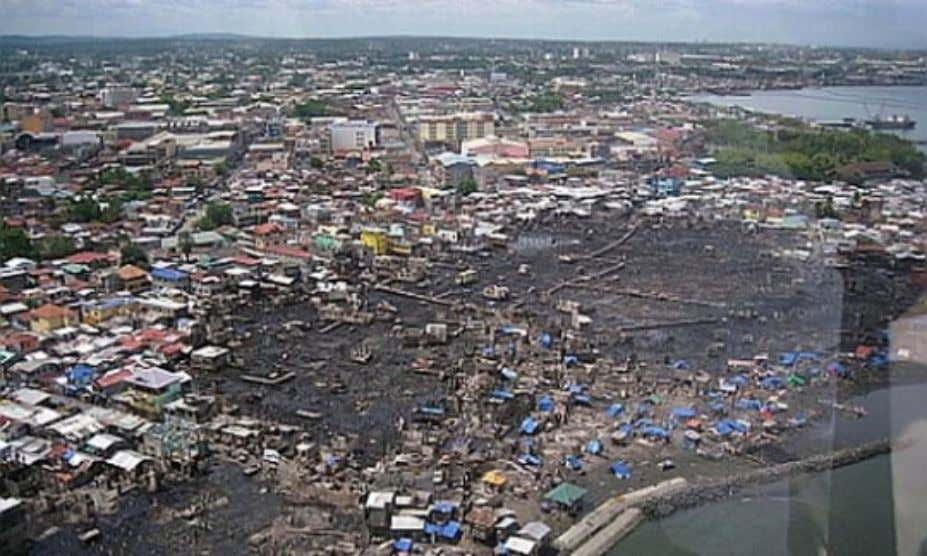 AGDAO (CBD), DAVAO Had caused further urban core deterioration and undue spillage of slums and informal