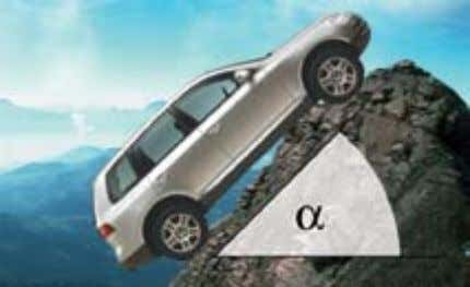 of the Touareg is proven by the following data: S297_043 Maximum climbing capability: (= 100% slope)