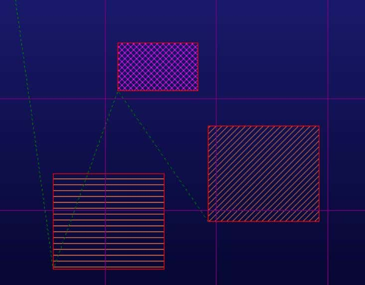 scratch type. Below is an example of the effects on nesting: Where part situation on grid
