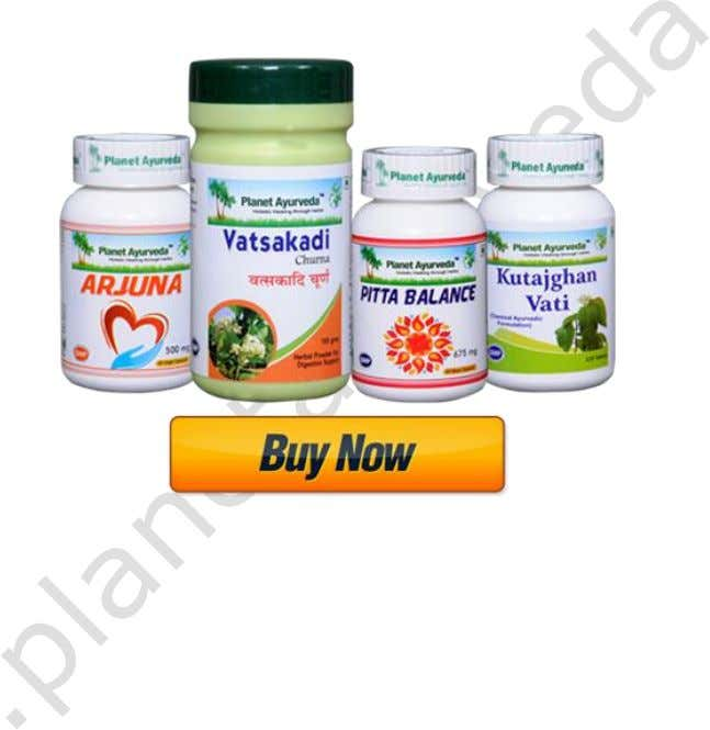 twice daily with plain water. ULCERATIVE COLITIS CARE PACK 1. VATSAKADI CHURNA Its various constituent herbs