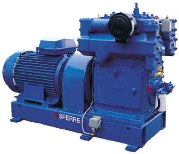 GB INSTRUCTION MANUAL WATER-COOLED AIR COMPRESSOR HV2/2 2 0 Sperre Industri AS Tel +47 70 16