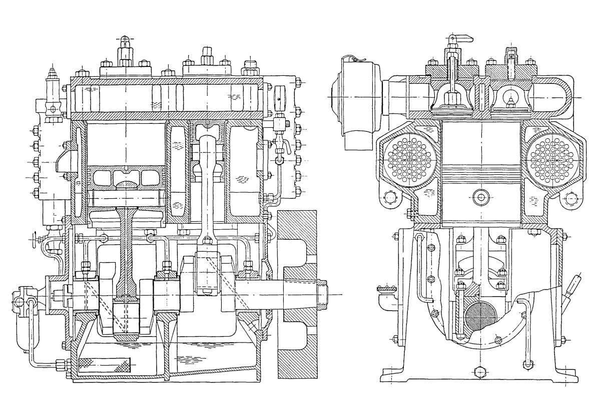 Fig. 2 Instruction manual for Water-cooled Air Compressor HV2/2 2 0 - 16 -