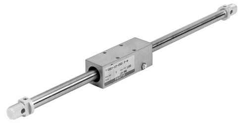 Rodless Cylinders Mechanically coupled Rodless cylinders or Linear Drives are used when long strokes are required