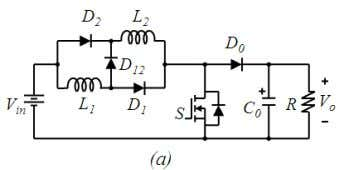 levels, the number of inductors also increases. Fig. 2. (a) one of the topologies proposed in