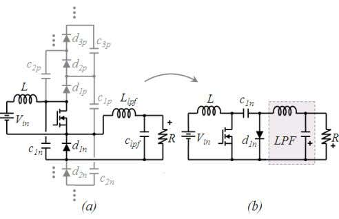 diode affects neither the operation nor the output voltage. Fig. 9. (a) Generalized topology (b) Traditional