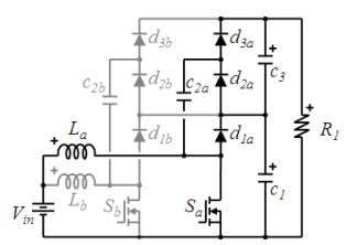 in each inductor is higher but they cancel each other). Fig. 17. Interleaved 2x multiplier boost