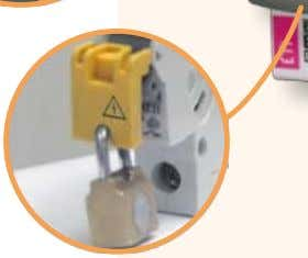 devices (auxiliary switch, shunt trip) Miniature  Sealing cover  Sealing possibility  Locking device 2