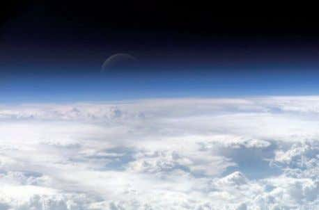 and anthropogenic sources, their chemistry and effects on the atmosphere. The Earth's atmosphere, as seen from