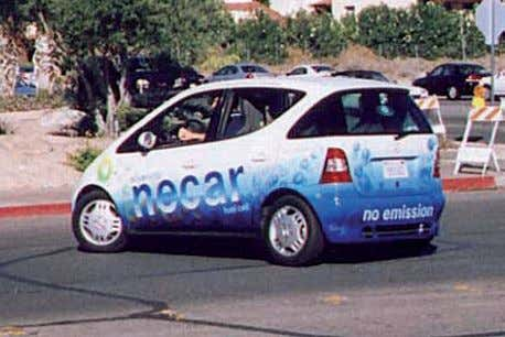 methods of burning fossil fuels to produce electricity. Daimler Chrysler NECar (New Electric Car), one of