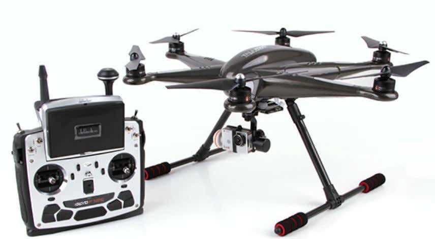 Figura 3 - Foto do Walkera TALI H500 FPV Hexacopter Fonte: Guangzhou Walkera Technology Co.,Ltd (2015)