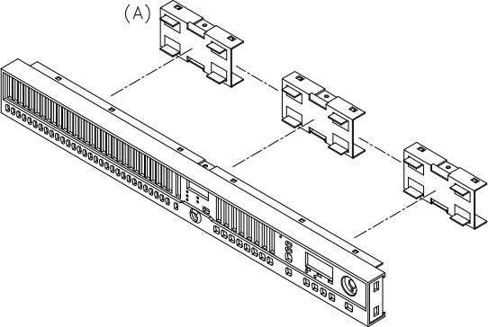 DISASSEMBLY PROCEDURES 3.REMOVAL OF FRONT PAREL P.C.B (Fig.3) (A.) REMOVE THE 3PC OF SUB-PANEL. Fig.3
