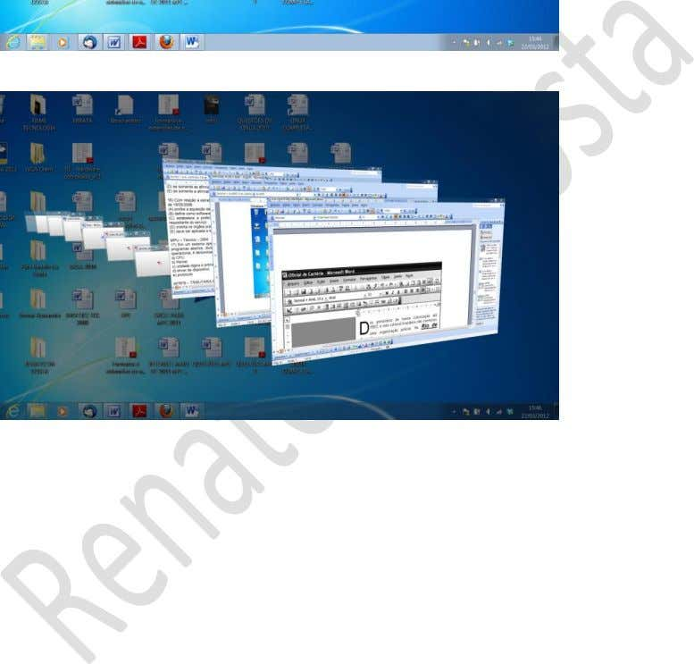 Prof. Renato da Costa WINDOWS 7 – DESKTOP AERO FLIP 3D = WINDOWS + TAB 24