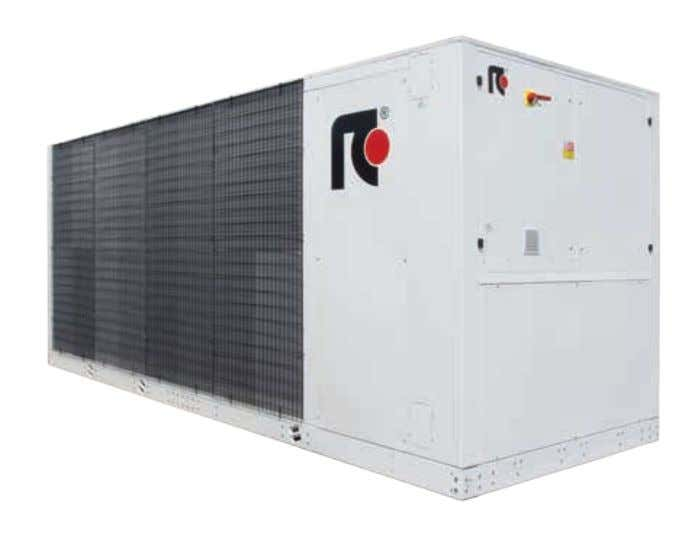 201,0 ÷ 1095,0 kW Potenza Termica: 231,0 ÷ 1219,0 kW IDEA ® reverso screw rcgroup airconditioning
