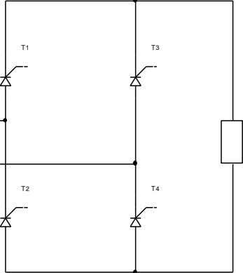 anodes Date: June 2008 Load Pg: 45/159 PRACTICES MANUAL Figure 6.1. Full-controlled single-phase half-wave rectifier