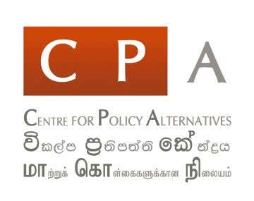 and Special Economic Zone Bhavani Fonseka and Mirak Raheem The Centre for Policy Alternatives (CPA) is