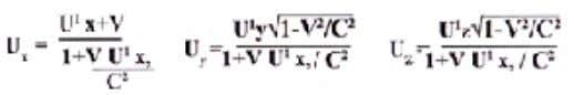 2 /C 2 /dt-vdx/c 2 ; The reverse equation are Above equation help us to transfer