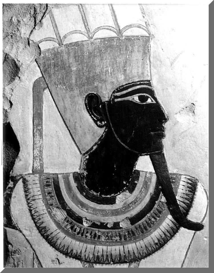 Black Amun (now at the Luxor Museum) 35. When a message is sent in heaven