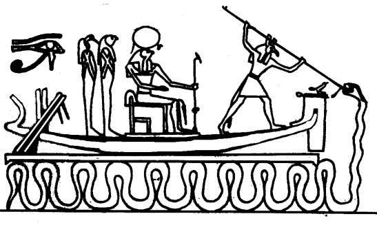 "been referred to as ""chaos"" by Western Egyptologists. ApepApepApepApep Above: Set protecting the boat of Ra"