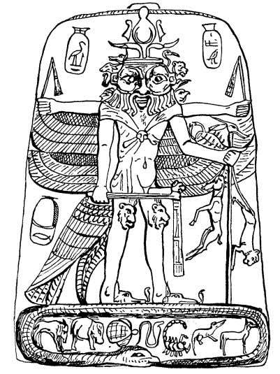 Self, interchangeably, to refer to the same Supreme Spirit. Above: Late Period depiction of Neberdjer. The
