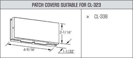 PATCH COVERS SUITABLE FOR CL-323 » CL-338
