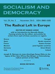 Socialism and Democracy ISSN: 0885-4300 (Print) 1745-2635 (Online) Journal homepage: