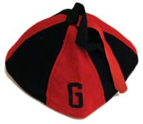 Lost Traditions 1. Rat Caps Freshmen were required to wear red and black caps with a