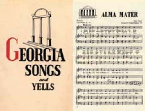 as early as the 1890s, but Hugh Hodgson, Georgia's famous composer and musician arranged it in