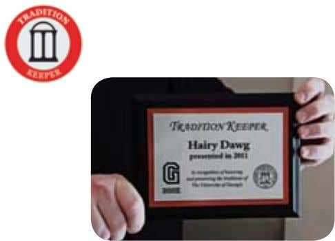 Traditions Completed: Personalized Tradition Keeper Plaque Come to the Wray-Nicholson House (home of the Alumni