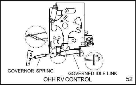 GOVERNOR SPRING GOVERNED IDLE LINK OHH RV CONTROL 52