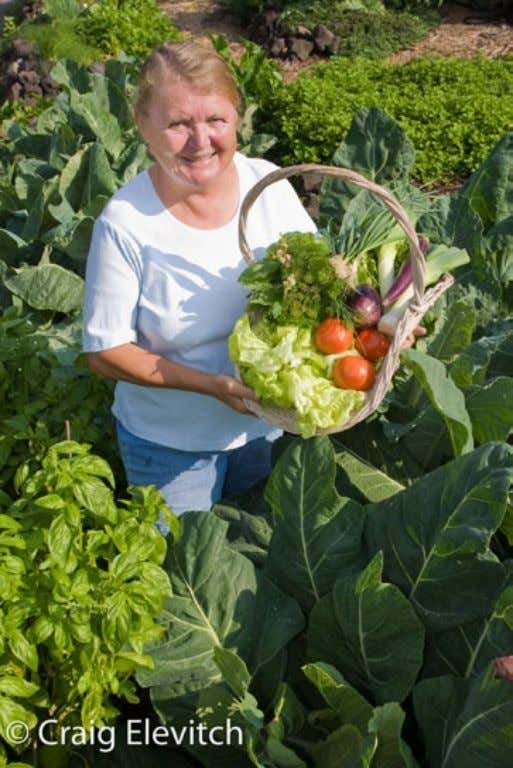 has caused growing concern about the safety of our food. Margaret displays a basket of freshly