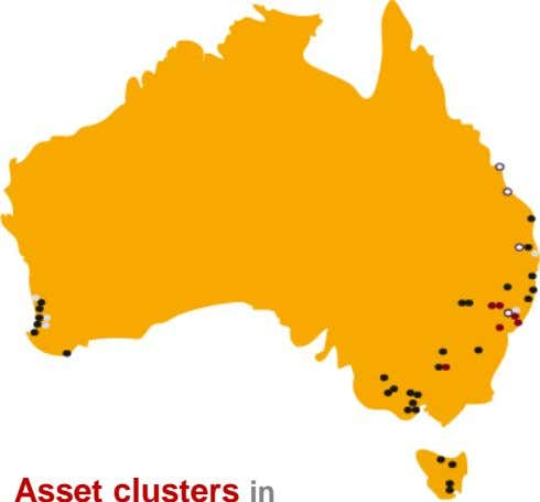 Asset clusters in