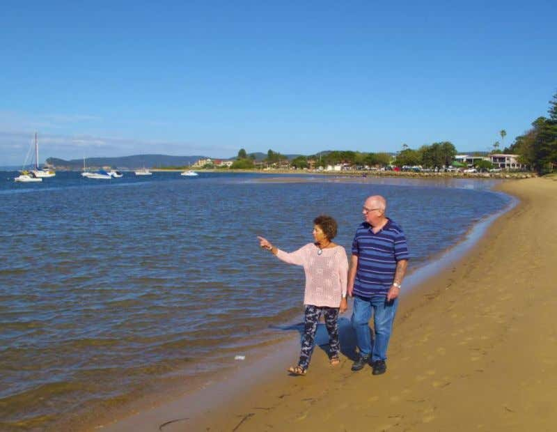 Appendices Residents strolling by Ettalong Beach, 1.5km from Ettalong Beach Holiday Village, NSW p31