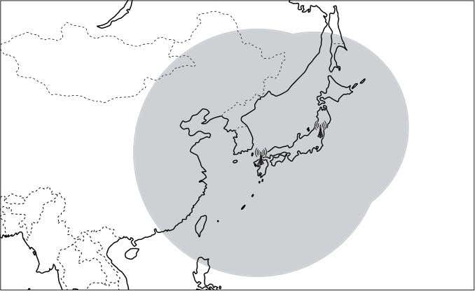 Kyushu Transmitter: 2,000 km radius from the transmitter 30 USA: WWVB (USA) Fort Collins: 3,000 km