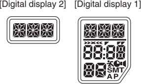[Digital display 2] [Digital display 1]