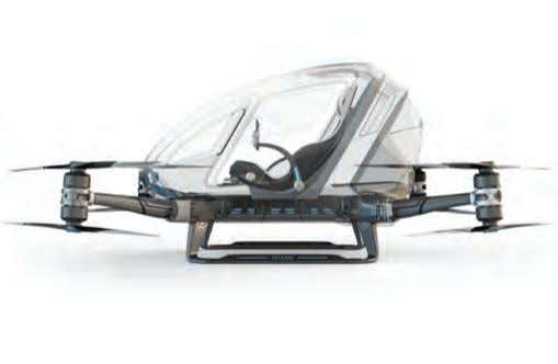 CES that make little sense, but delighted us all the same. EHang 184 Drone Drones are