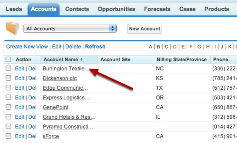 The Result The records have now been merged and you no longer have any duplicates. Salesforce