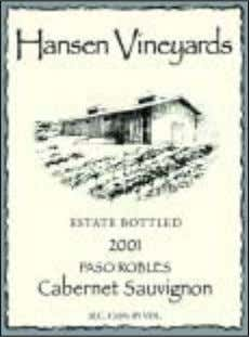 HANSEN VINEYARDS As a small boutique winery, we offer ultra-premium hand-made wines produced in small lots