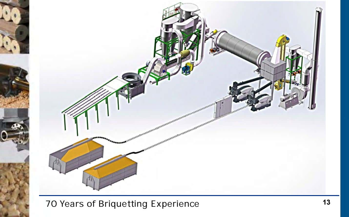 70 Years of Briquetting Experience 13
