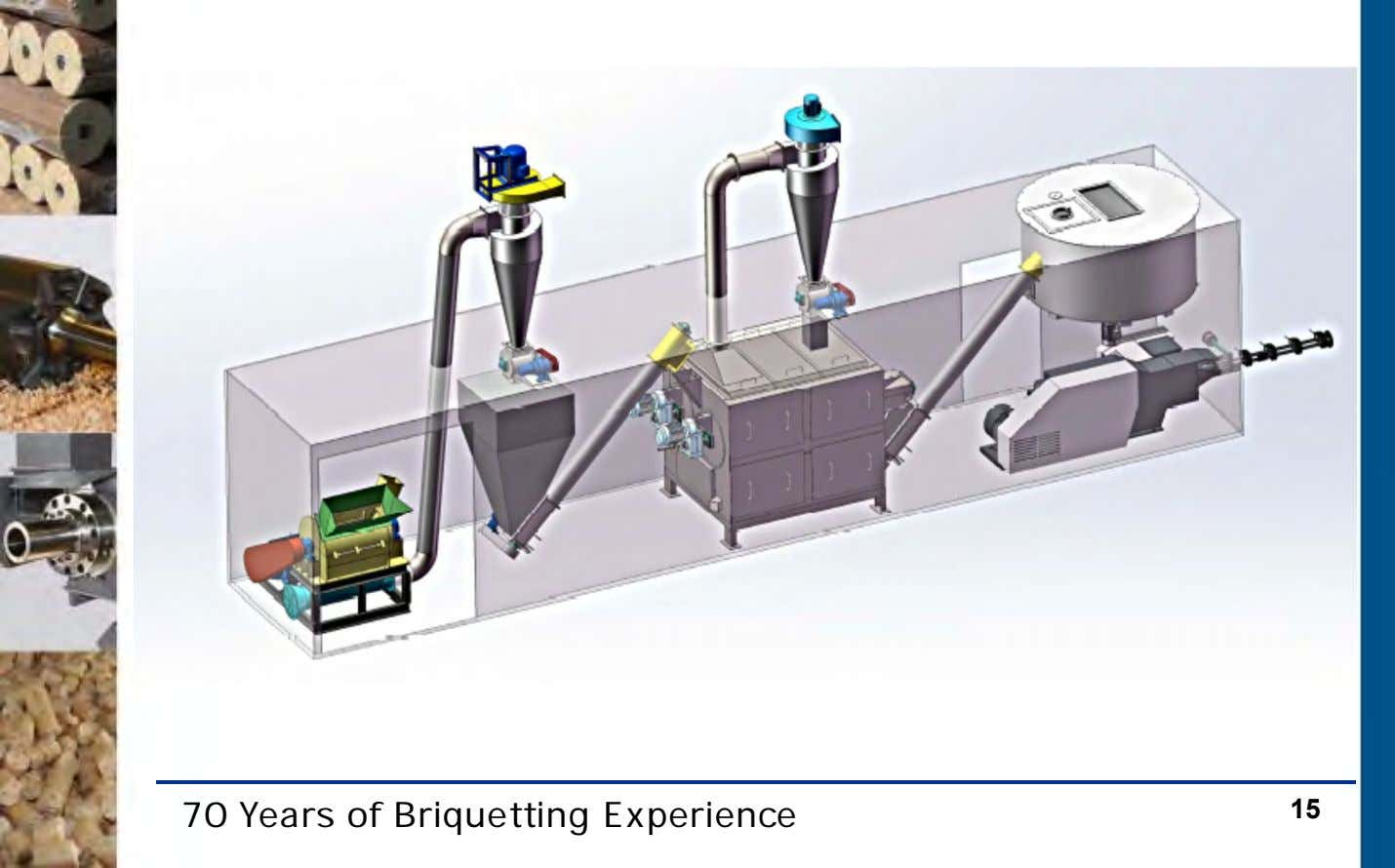 70 Years of Briquetting Experience 15
