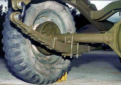 A leaf spring is a long, flat, thin, and flexible piece of A traditional leaf spring
