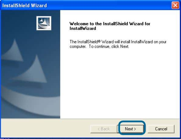 wait while the InstallShield Wizard prepares to install. Click Next . Click Next . The InstallShield