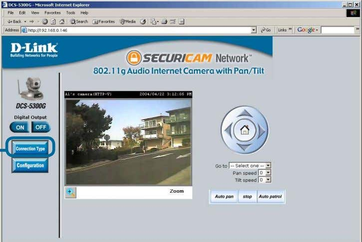 . Click on the Connection Type button to change settings related to the connection. Click Connection