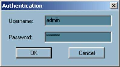 execute. You must log in as admin (administrator) to use this application. Enter the password for