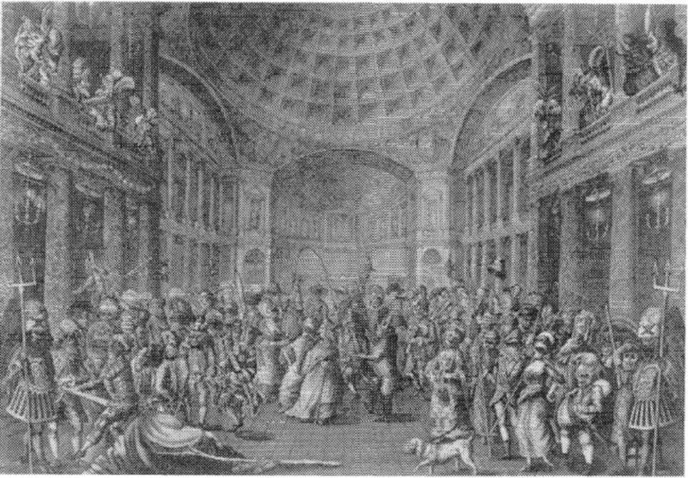 98 THE FEMALE THERMOMETER Figure 6.5. Charles White, Masquerade Scene at the Pantheon, 1773. Courtesy of