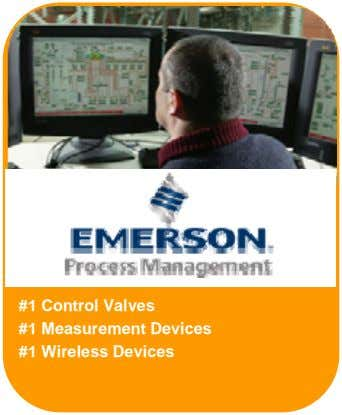 #1 Control Valves #1 Measurement Devices #1 Wireless Devices