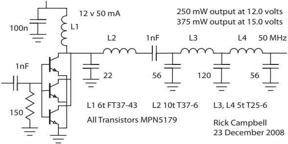 12 v 50 mA 250 mW output at 12.0 volts 375 mW output at 15.0