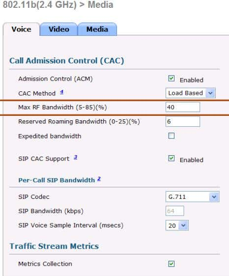 the Same Bandwidth Reservation. Video has a BW Reservation BRKEWN-2000 © 2011 Cisco and/or its affiliates.
