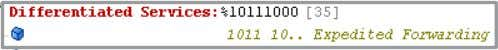 Voice packet has a 802.11 UP = 6 and maintains DSCP = EF BRKEWN-2000 © 2011