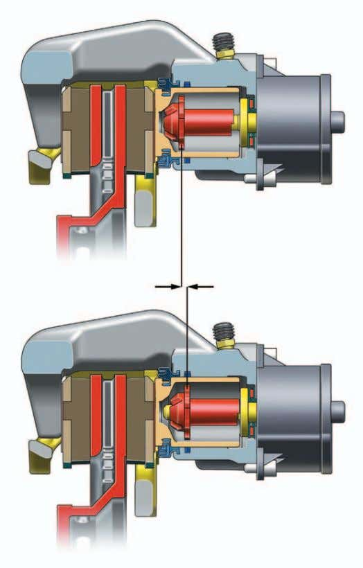 Electromechanical Parking Brake A spindle, which drives the brake piston, is responsible for converting the rotation